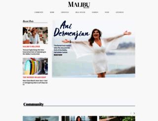 malibumag.com screenshot