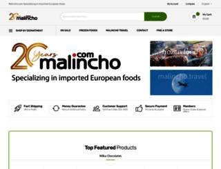 malincho.com screenshot