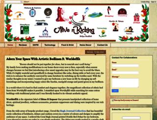 maliveandkicking.blogspot.com screenshot