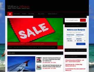 mallorca-24hours.com screenshot