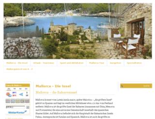mallorca-meine-insel.com screenshot
