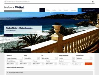 mallorca-mietkult.com screenshot