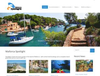 mallorca-spotlight.com screenshot