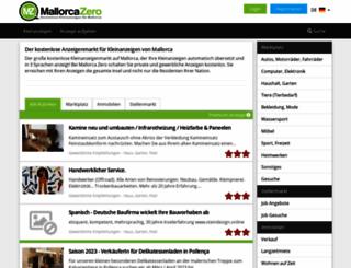 mallorca-zero.com screenshot