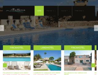 mallorcalandhotel.com screenshot