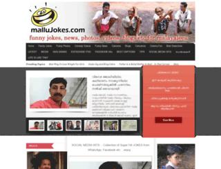 mallujokes.com screenshot