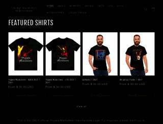 malmsteenmerchandise.com screenshot