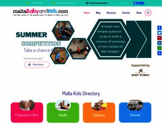 maltababyandkids.com screenshot