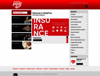 maltapost.com screenshot