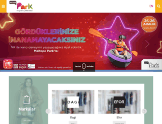 maltepeparkavm.com screenshot
