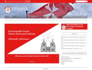 maltezskyrad.cz screenshot