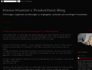 mama-muetze.blogspot.com screenshot