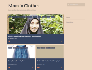 mamaclothes.blogspot.com screenshot