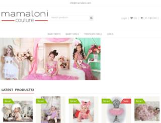 mamaloni.com screenshot