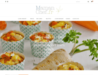 mamanchef.fr screenshot