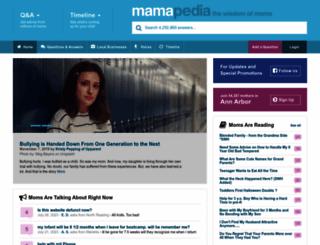 mamapedia.com screenshot