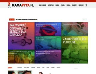 mamapyta.pl screenshot