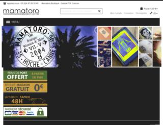 mamatoro.com screenshot
