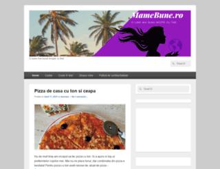mamebune.ro screenshot
