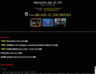 mameinfo.mameworld.info screenshot