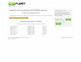 mamere.com.au screenshot