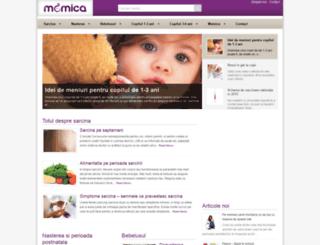 mamica.ro screenshot