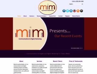 mamiinnovativemedia.com screenshot
