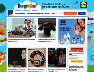 maminklub.lv screenshot