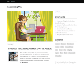 mammablog.org screenshot
