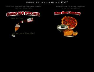 mammamiapizzabeer.com screenshot