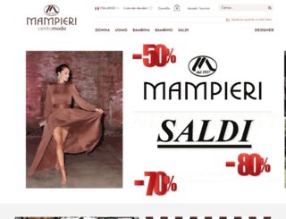 mampierimoda.it screenshot