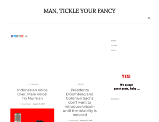 man2tickle.com screenshot