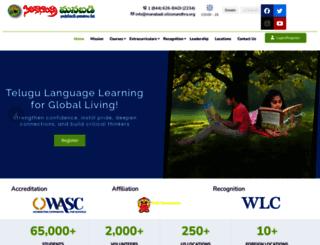 manabadi.siliconandhra.org screenshot