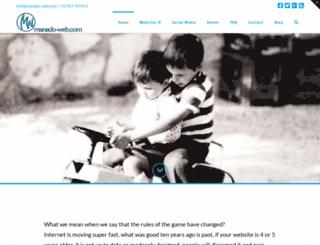 manado-web.com screenshot