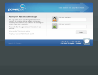 manage.powerport.com.au screenshot