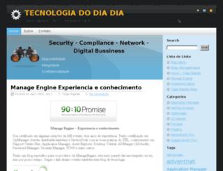 manageengine.tiagobigode.com.br screenshot