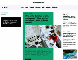 managementblog.com.au screenshot