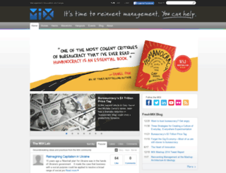 managementexchange.com screenshot