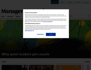 managementtoday.co.uk screenshot