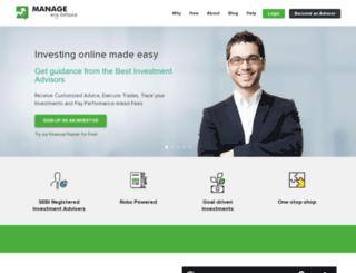managemyfortune.com screenshot