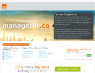 managerhr.co screenshot