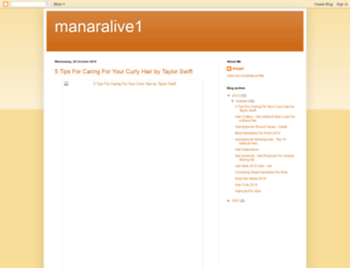 manaralive1.blogspot.com screenshot