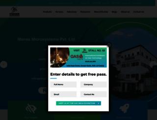 manasmicro.com screenshot
