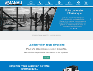 manau.fr screenshot