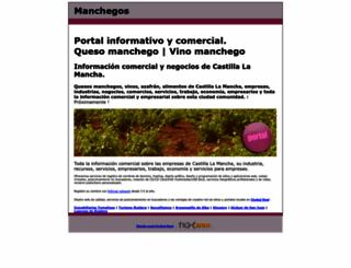 manchegos.com screenshot