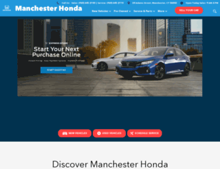 manchesterhonda.com screenshot