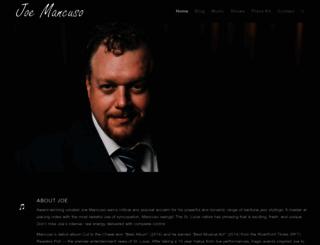 mancusojazz.com screenshot