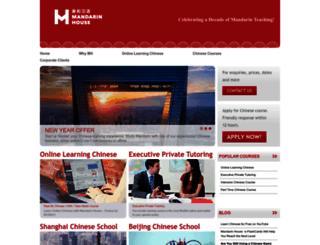 mandarinhouse.com screenshot