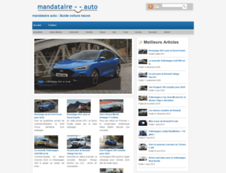 mandataire--auto.fr screenshot