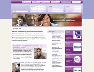 mandbf.org.uk screenshot